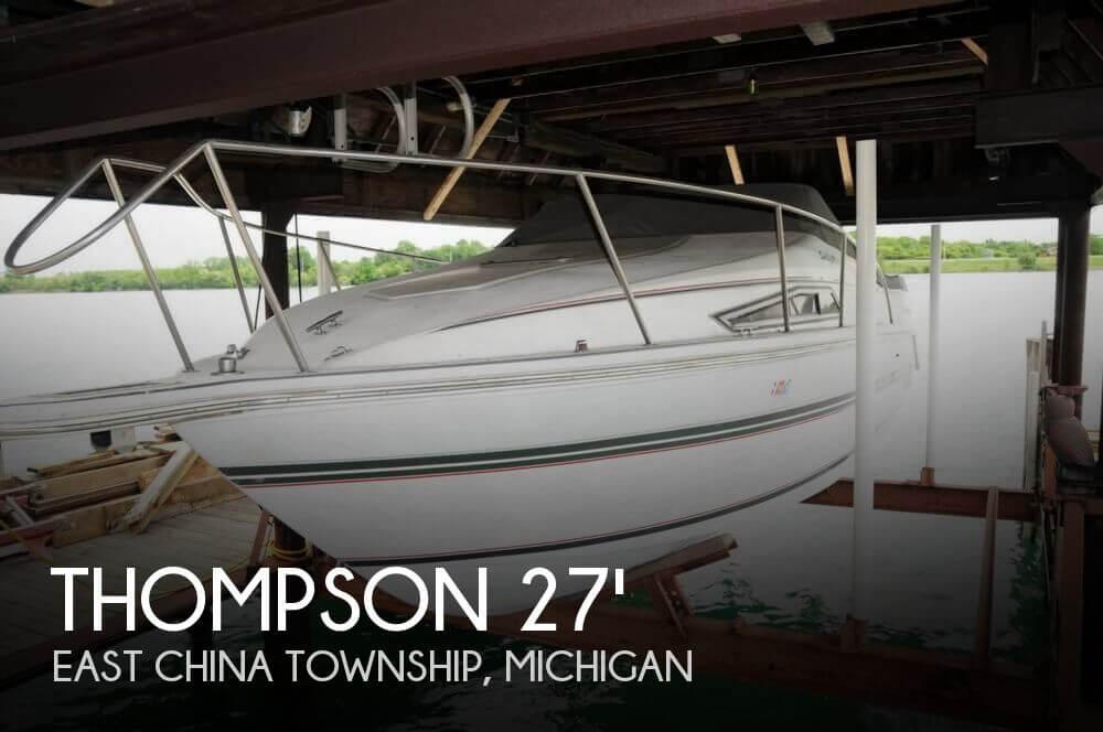 1991 THOMPSON 270 SANTA CRUZ for sale