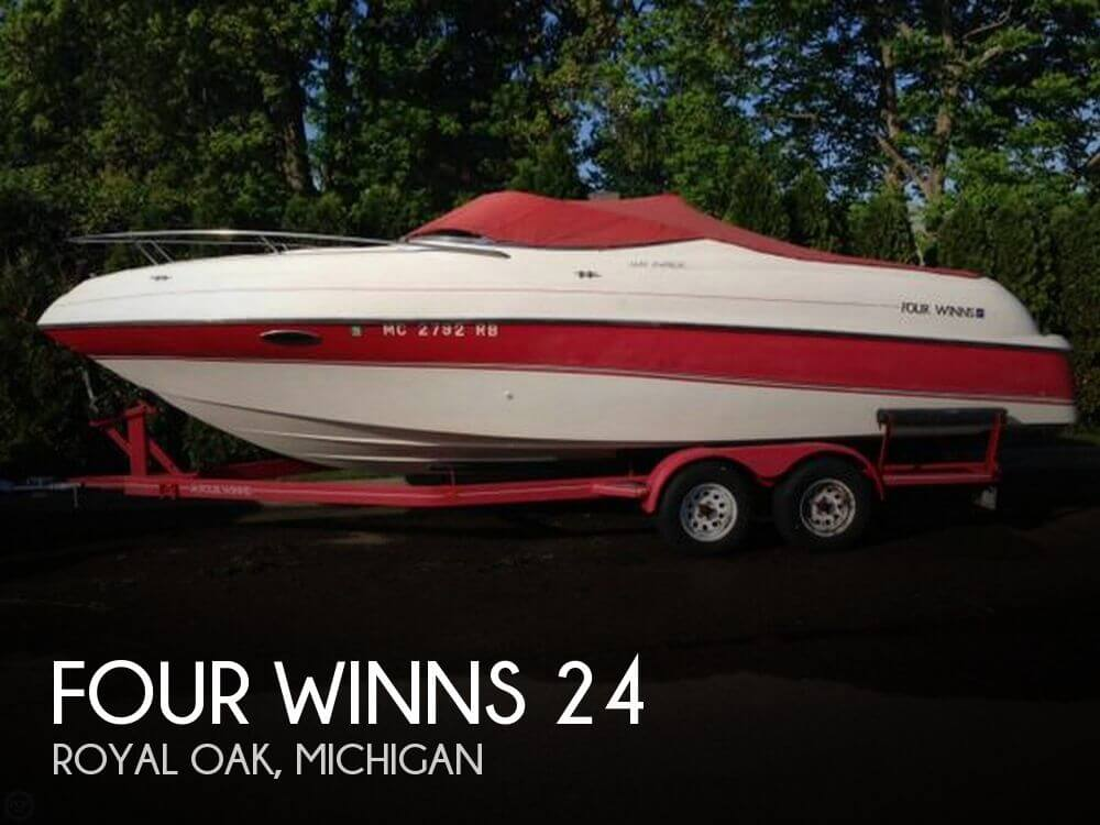 Used FOUR WINNS Boats For Sale in Michigan by owner | 1996 Four Winns 24