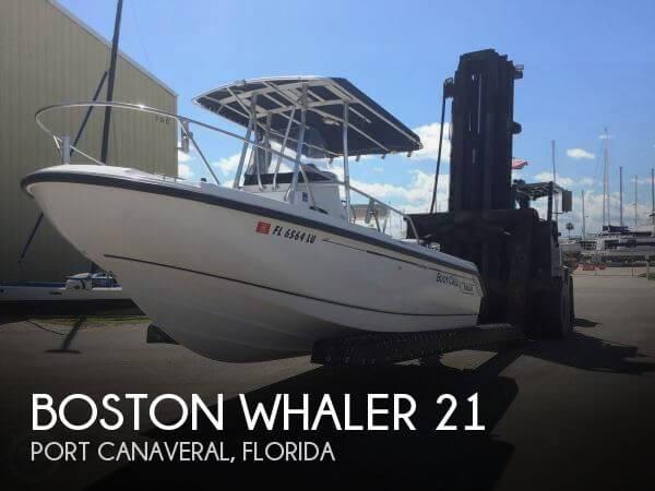2001 Boston Whaler 21 - Photo #1