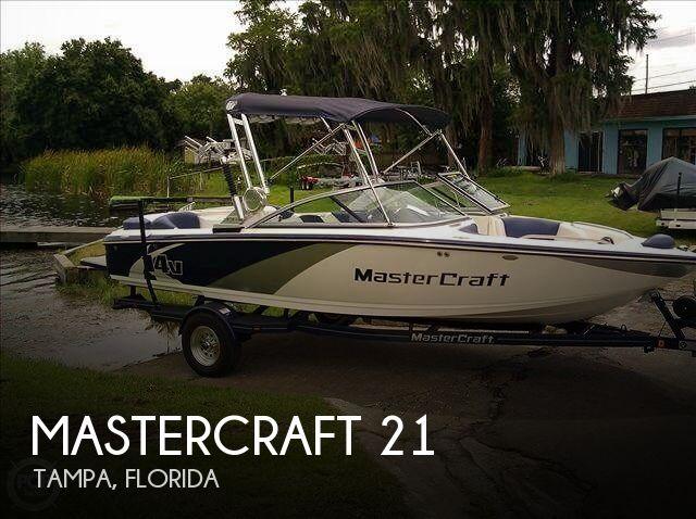 21 Foot Mastercraft 21 21 Foot Motor Boat In Odessa Fl
