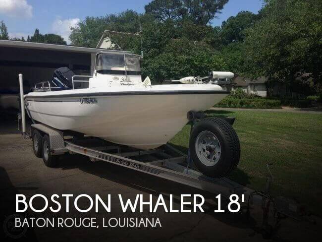 Used Boston Whaler 18 Boats For Sale by owner | 2001 Boston Whaler 18