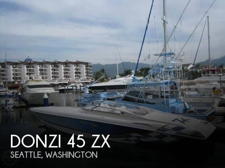2002 DONZI 45 ZX for sale