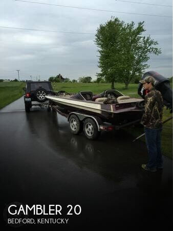 Used Boats For Sale in Lexington, Kentucky by owner | 2001 Gambler 20