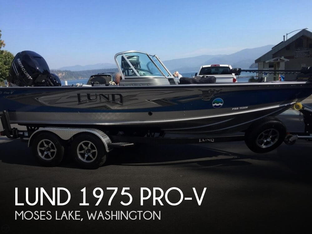 2016 LUND 1975 PRO V for sale