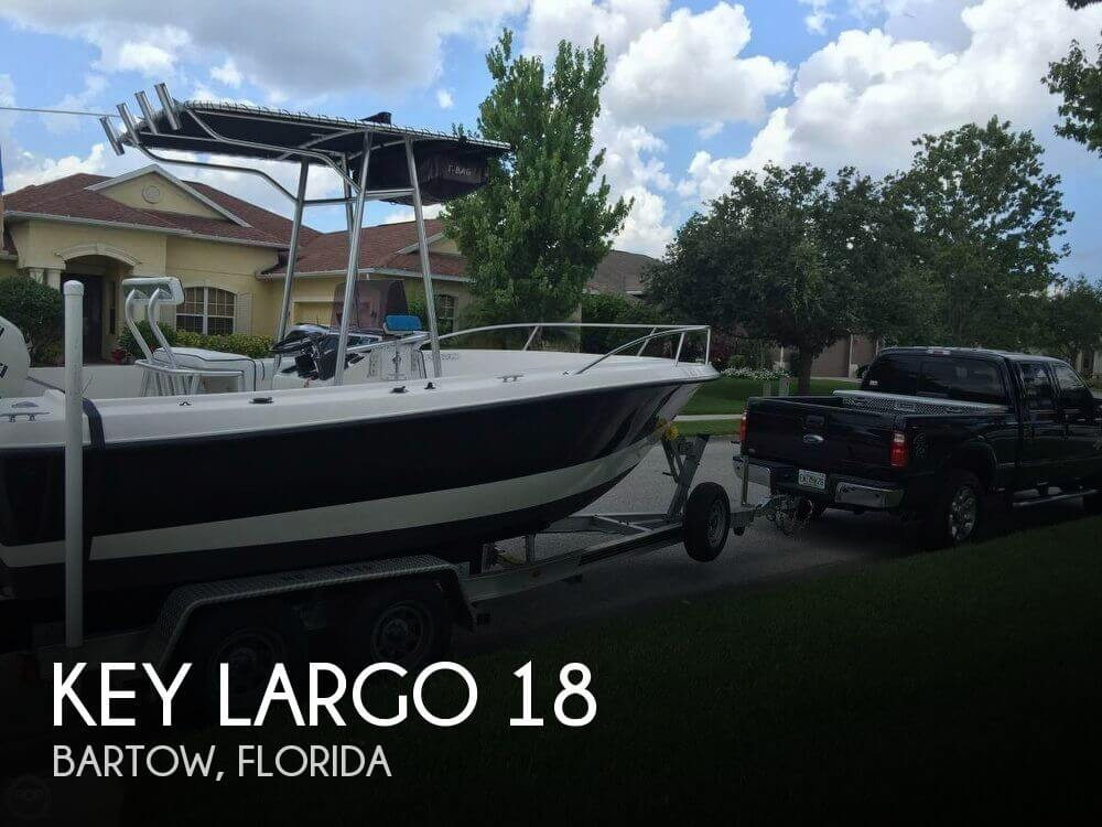 Used Key largo Boats For Sale by owner | 2003 Key Largo 18