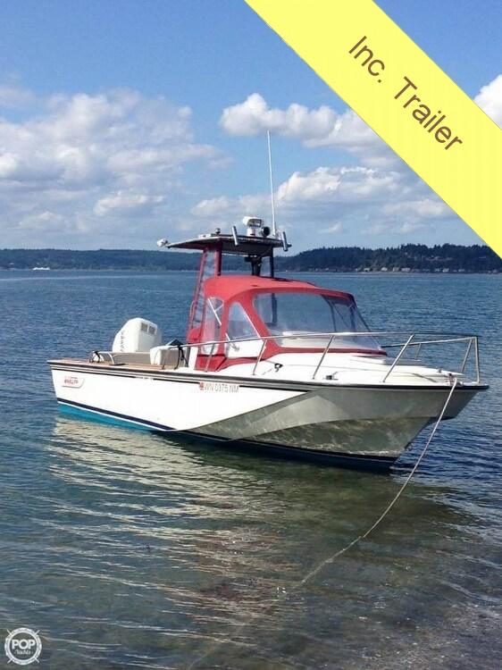 1989 Boston Whaler boat for sale, model of the boat is 22 Cuddy Cabin & Image # 2 of 12