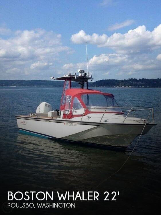 1989 BOSTON WHALER 22 CUDDY CABIN for sale