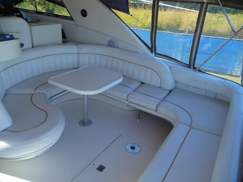 1996 Sea Ray boat for sale, model of the boat is 450 Sundancer & Image # 34 of 40
