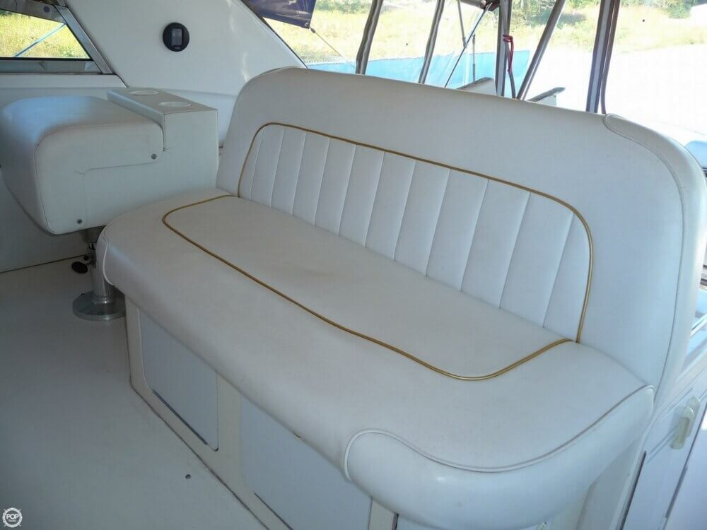 1996 Sea Ray boat for sale, model of the boat is 450 Sundancer & Image # 39 of 40