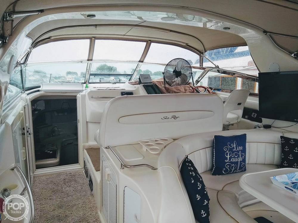 1996 Sea Ray boat for sale, model of the boat is 450 Sundancer & Image # 9 of 40