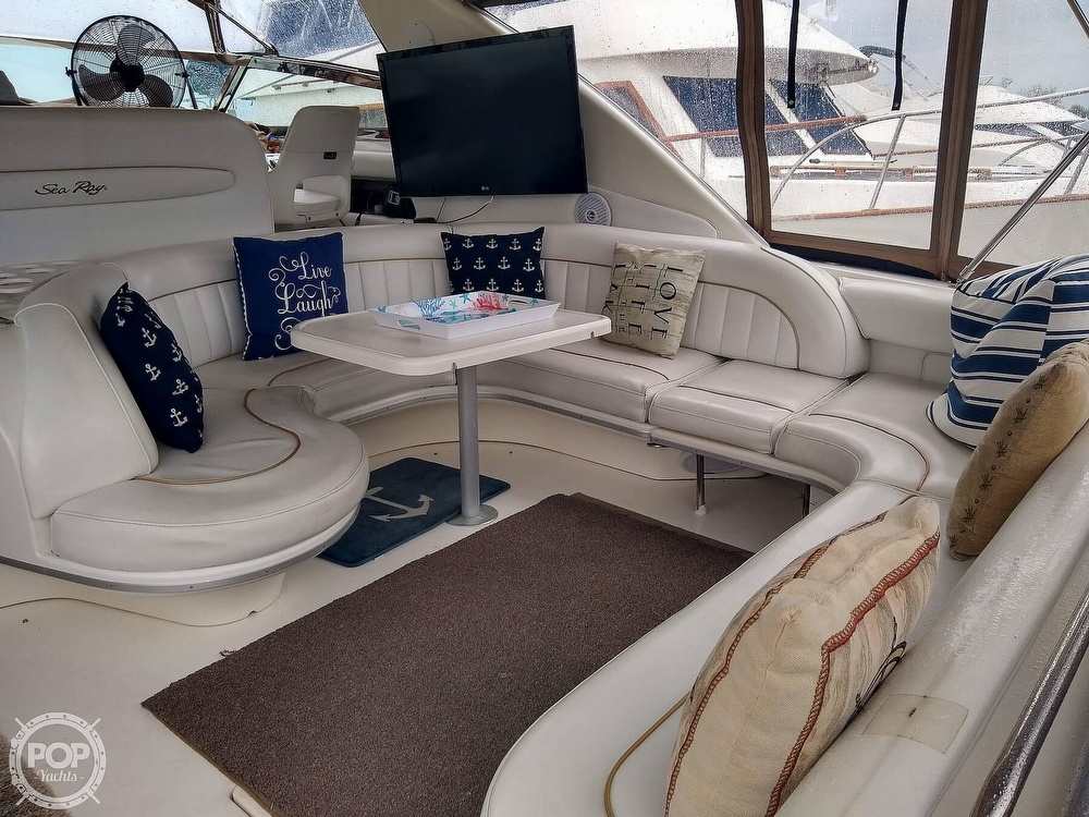 1996 Sea Ray boat for sale, model of the boat is 450 Sundancer & Image # 13 of 40
