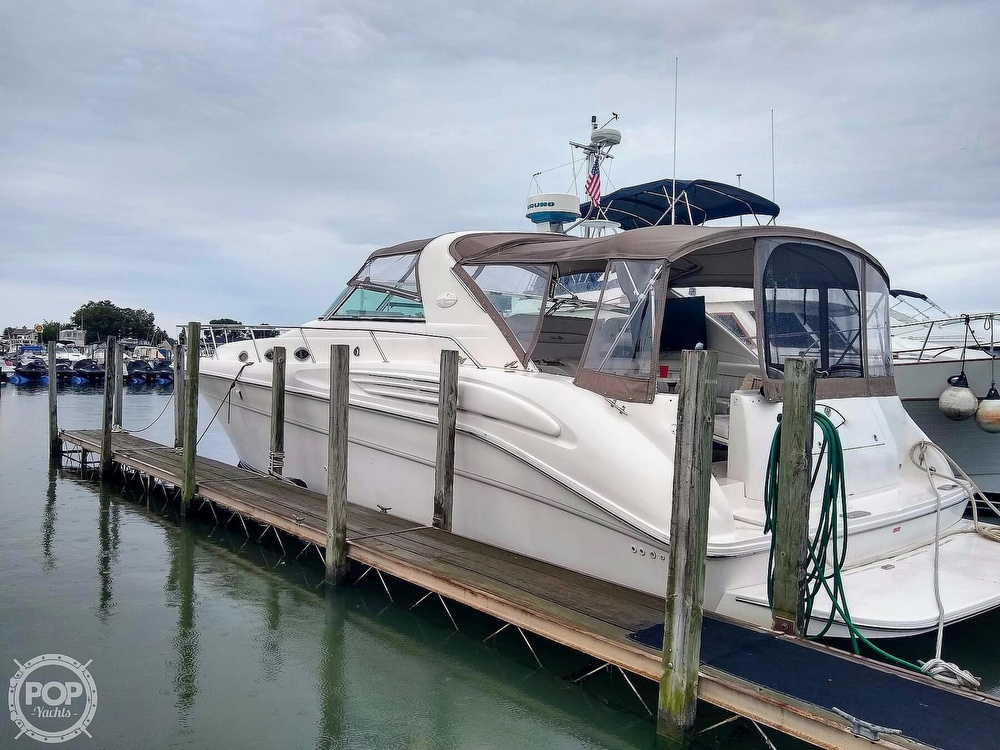 1996 Sea Ray boat for sale, model of the boat is 450 Sundancer & Image # 3 of 40