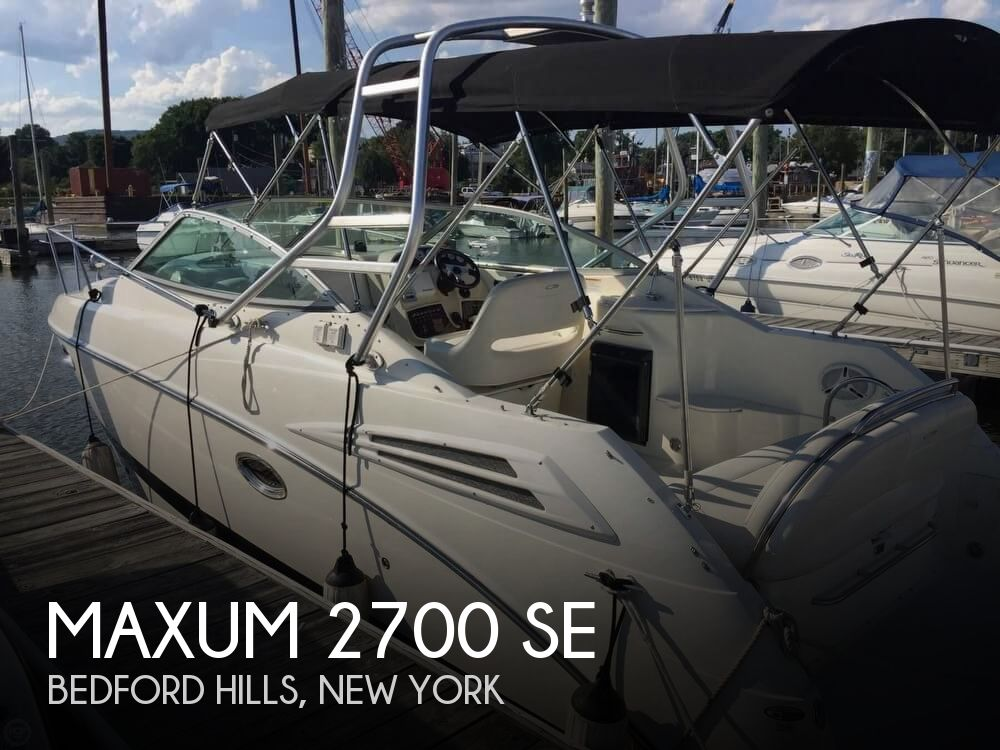 Used Maxum Boats For Sale in New York by owner | 2008 Maxum 27