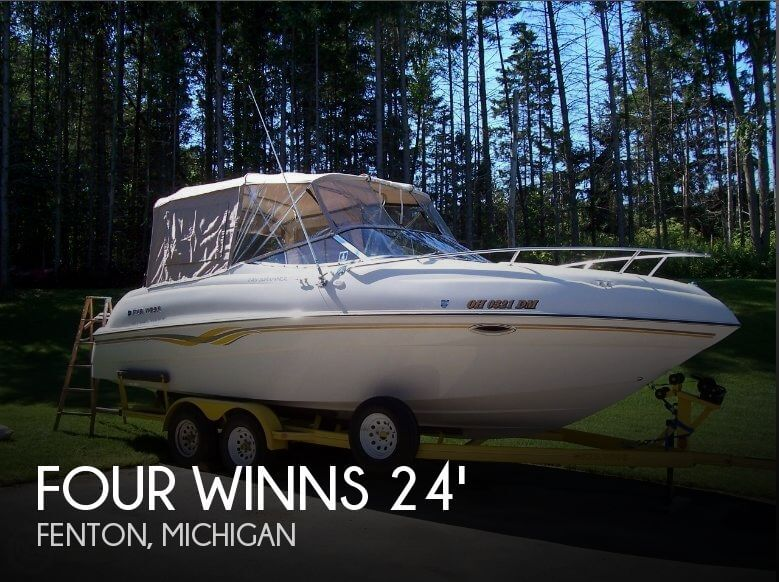 Used FOUR WINNS Boats For Sale in Michigan by owner | 1998 Four Winns 24
