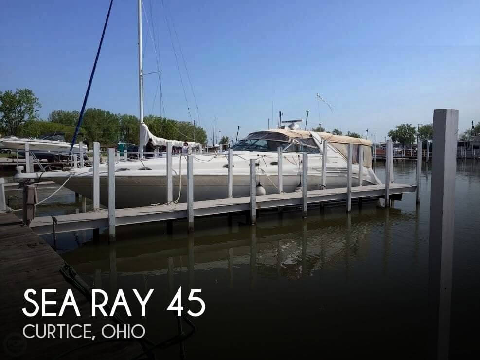 Used Boats For Sale in Ohio by owner | 1996 Sea Ray 45