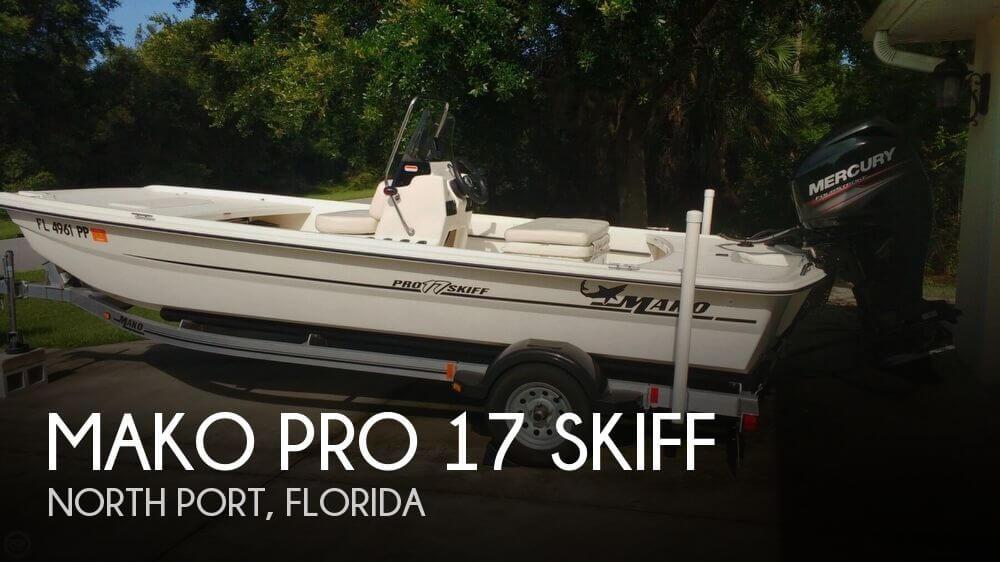 2013 MAKO PRO 17 SKIFF for sale
