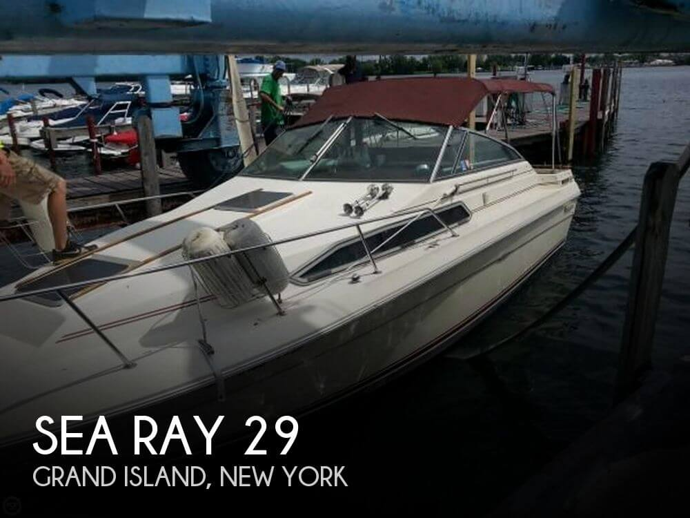 Used Boats For Sale by owner | 1985 Sea Ray 29