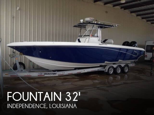 Fountain boats for sale used fountain boats for sale by for Fishing boats for sale by owner