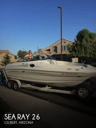 2008 Sea Ray boat for sale, model of the boat is 26 & Image # 1 of 10