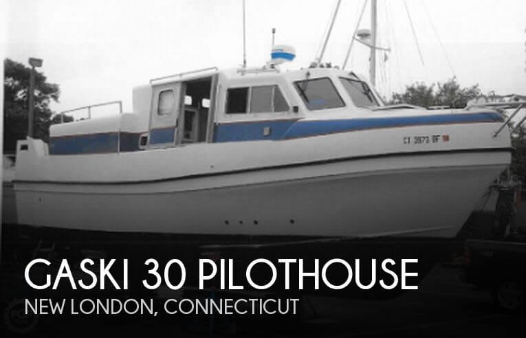 2002 GASKI 30 PILOTHOUSE for sale