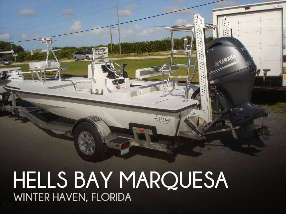 Used Ski Boats For Sale in Florida by owner | 2015 Hells Bay 18