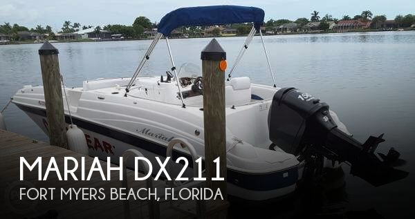 Used Deck Boats For Sale by owner | 2004 Mariah 21