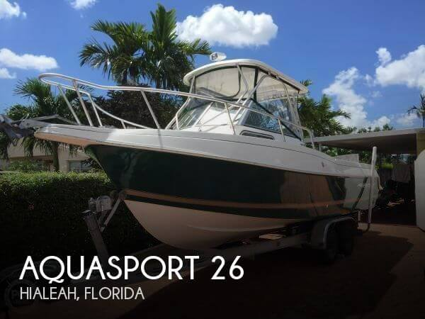 Used Aquasport Boats For Sale by owner | 1999 Aquasport 26