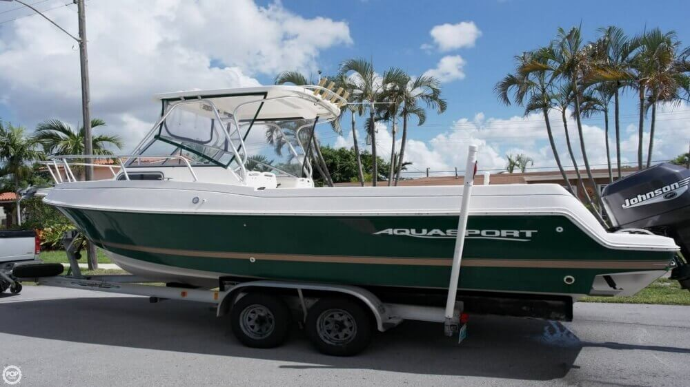 3012494L?2 canceled aquasport explorer 245 in hialeah, fl pop yachts  at fashall.co