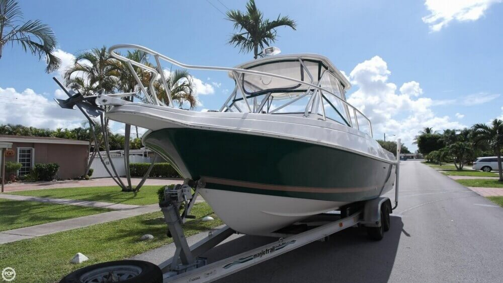 3012499L?2 canceled aquasport explorer 245 in hialeah, fl pop yachts  at fashall.co