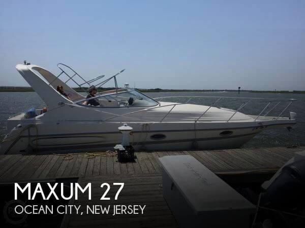 1997 maxum 27 power boat for sale in ocean city nj for Ocean city nj fishing charters