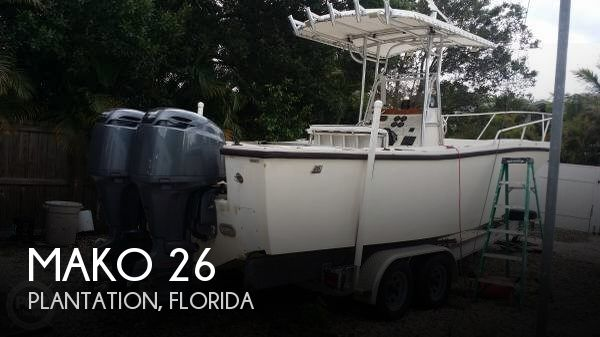 Used MAKO Boats For Sale in Florida by owner | 1988 Mako 26