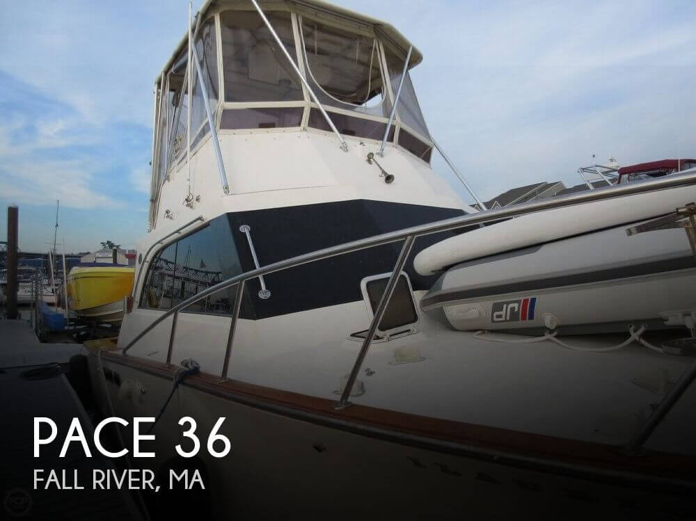 Used Pace Boats For Sale by owner   1989 Pace 36