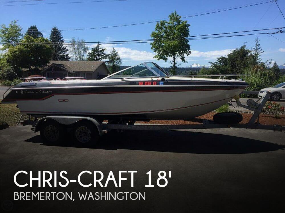Used Chris-Craft Boats For Sale in Washington by owner | 1986 Chris-Craft 18