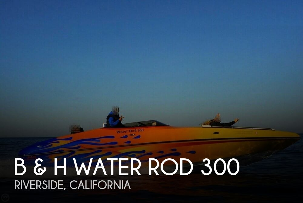 2012 B & H Performance boat for sale, model of the boat is Water Rod 300 & Image # 1 of 40