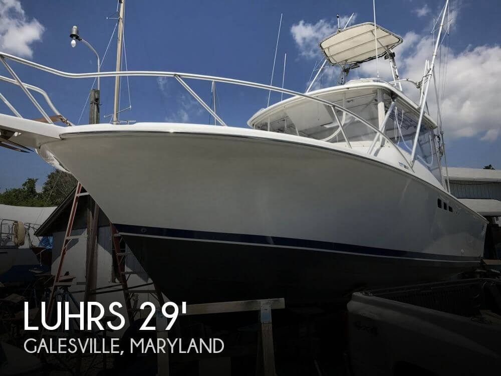Used Fishing boats For Sale in Maryland by owner | 1996 Luhrs 29