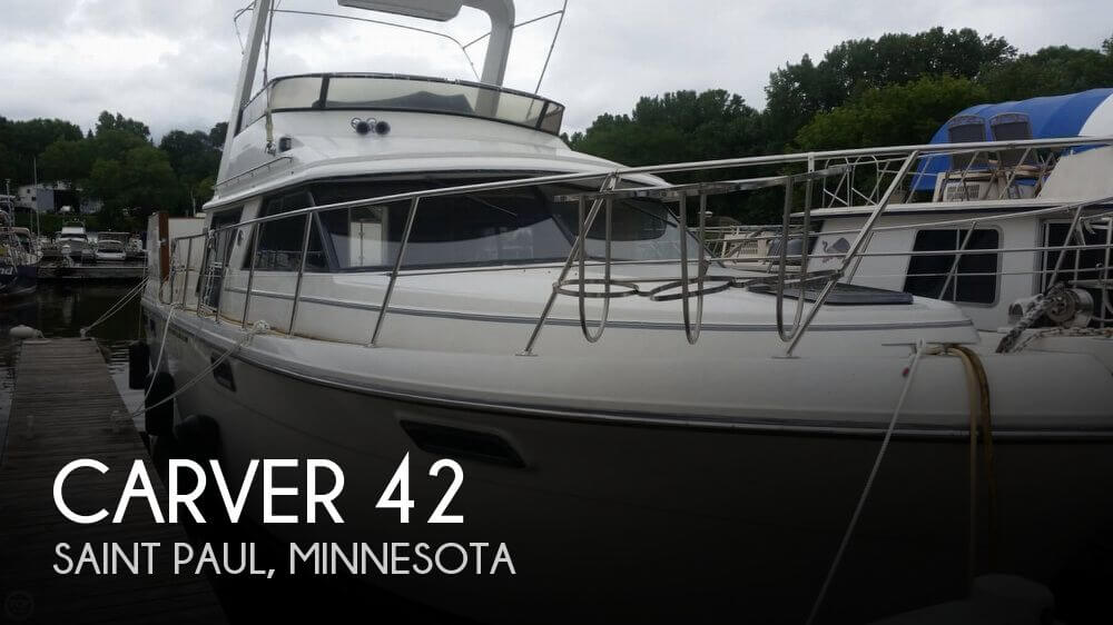 Used Boats For Sale in Rochester, Minnesota by owner | 1986 Carver 42