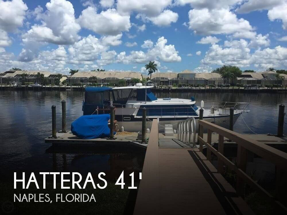 For sale used 1968 hatteras 41 double cabin motor yacht for Hatteras cabins rentals