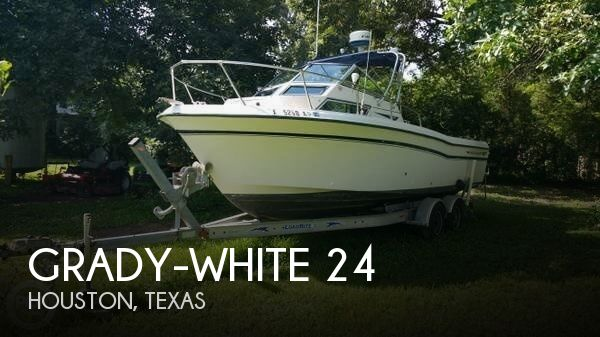 24 Foot Grady White 24 24 Foot White Motor Boat In