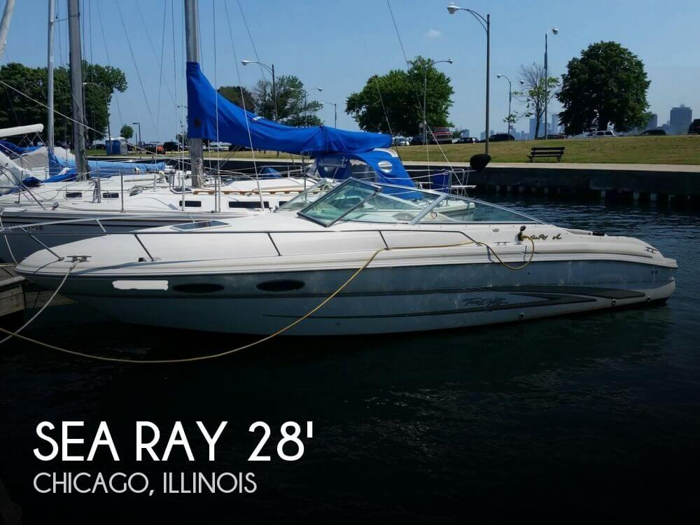 Used Sea Ray Boats For Sale in Illinois by owner | 1997 Sea Ray 28