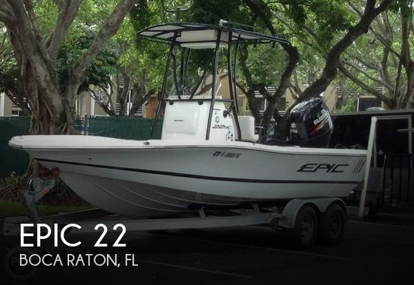 Used Epic Boats For Sale by owner | 2014 Epic 22