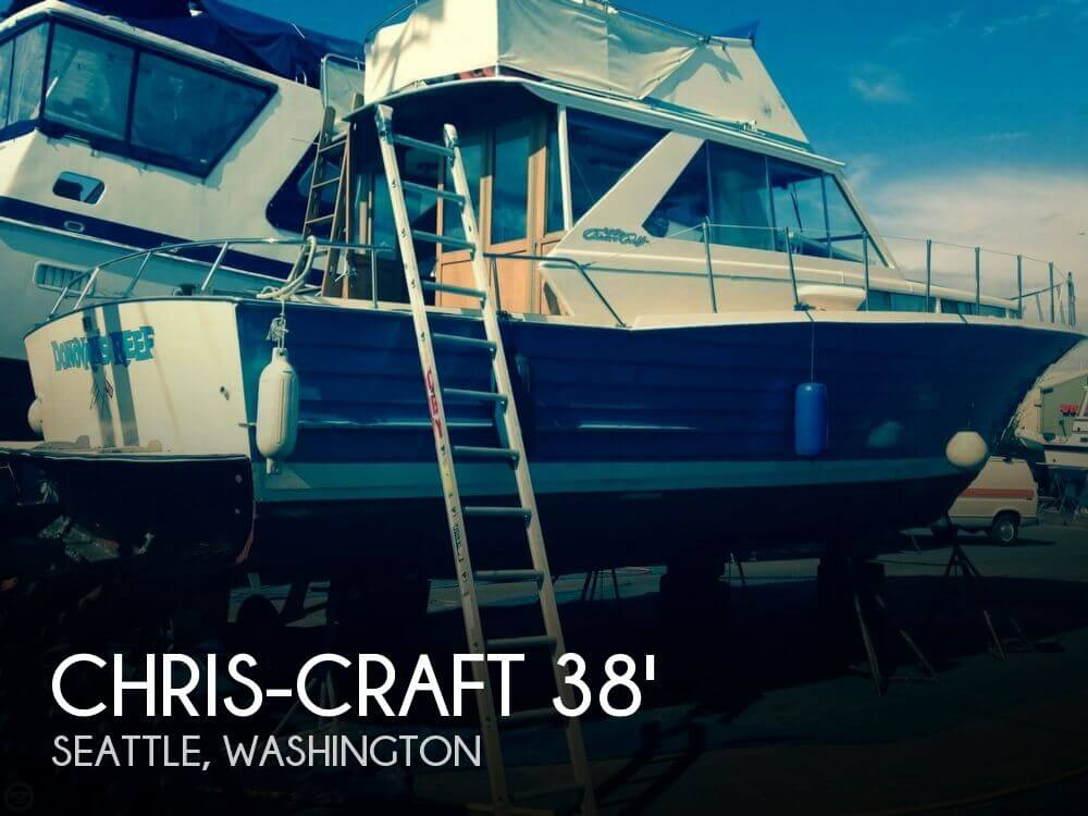 1964 CHRIS CRAFT SEA SKIFF 38 for sale