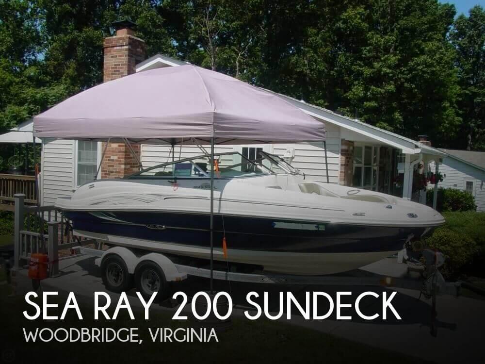 2005 SEA RAY 200 SUNDECK for sale