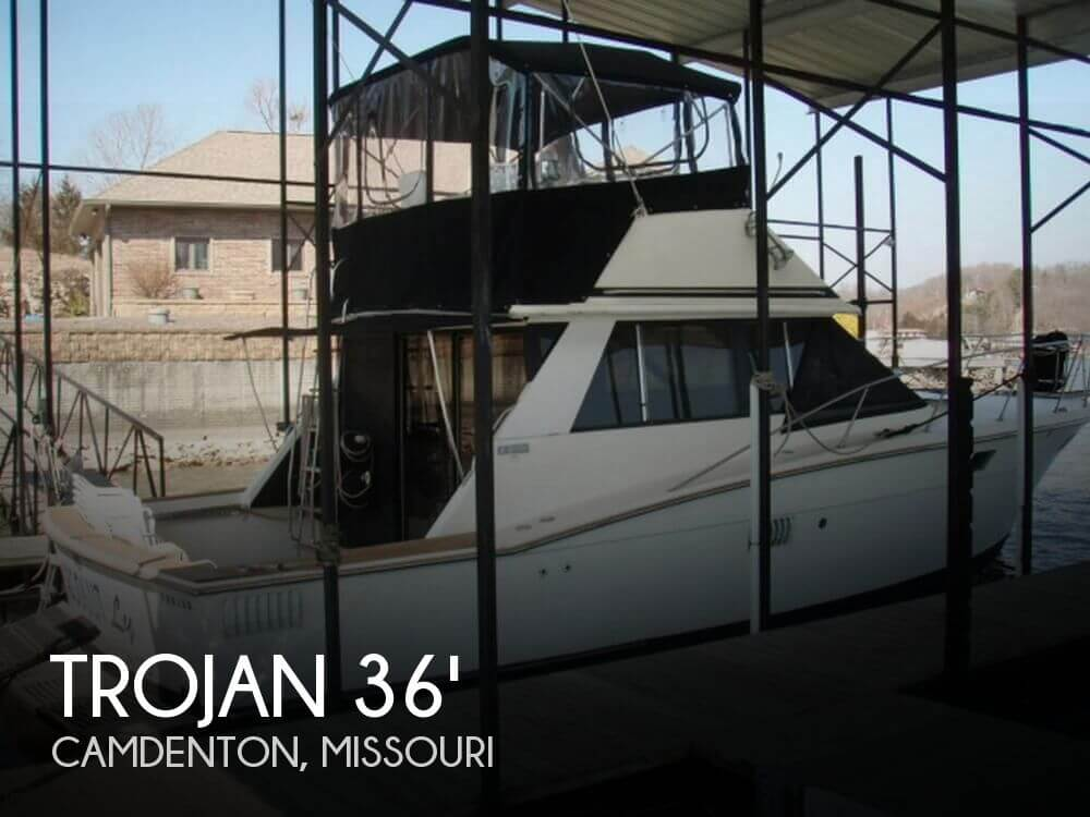 For Sale Used 1973 Trojan F 36 Flybridge Cruiser