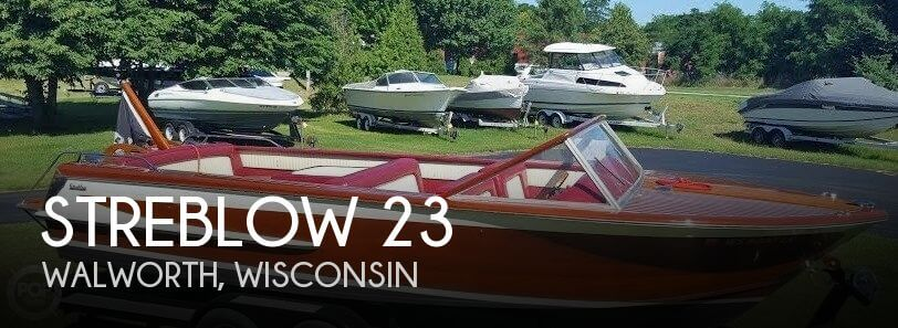 Used Boats For Sale in Rockford, Illinois by owner | 1981 Streblow 23