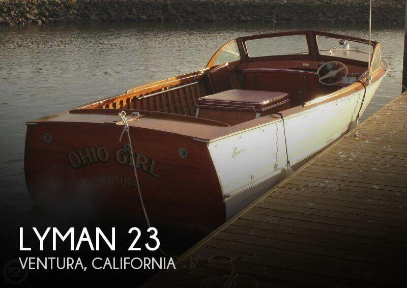 23 Foot Lyman 23 23 Foot Motor Boat In Ventura Ca