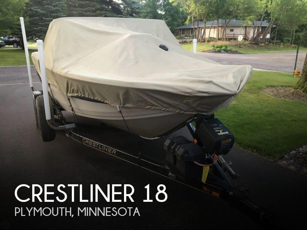 2007 crestliner 18 fishing boat for sale in plymouth mn for Fishing boats for sale mn