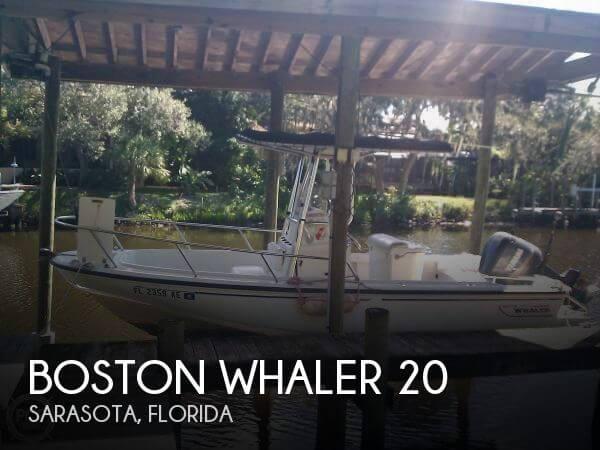 1998 Boston Whaler 20 - Photo #1
