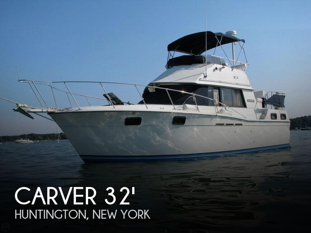 Used Carver Boats For Sale in New York by owner | 1984 Carver 32