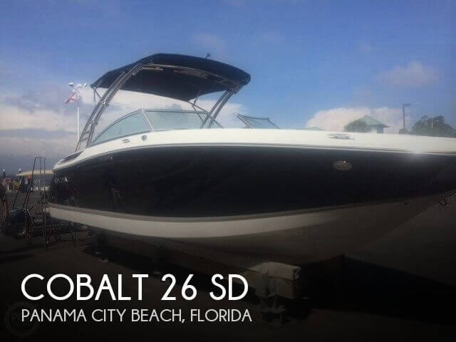 Used Deck Boats For Sale by owner | 2012 Cobalt 26 SD