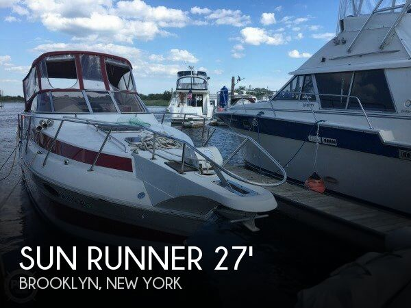 Used Sun runner Boats For Sale by owner | 1988 Sun Runner 27